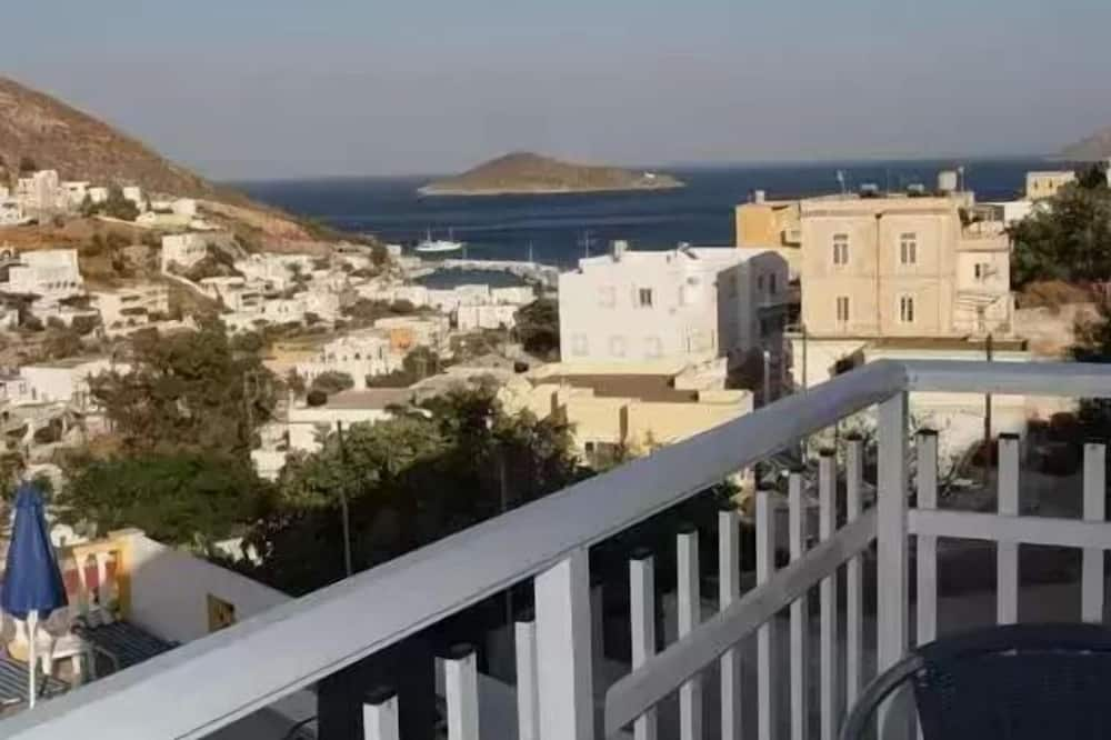 Apart Daire, Deniz Manzaralı (4 adults) - Balkon
