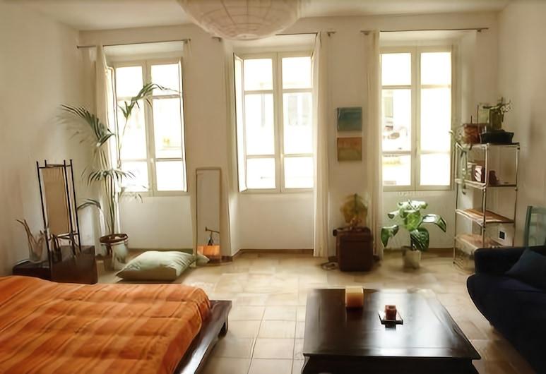 Casa Marina, Cagliari, Tweepersoonskamer, 1 tweepersoonsbed, gemeenschappelijke badkamer, Kamer