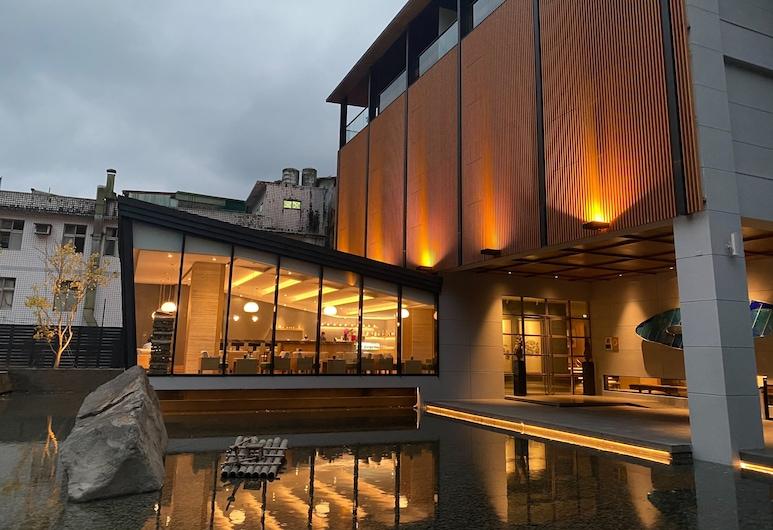 Wulai Pause Landis Resort, New Taipei City, Pohľad na hotel – večer/v noci