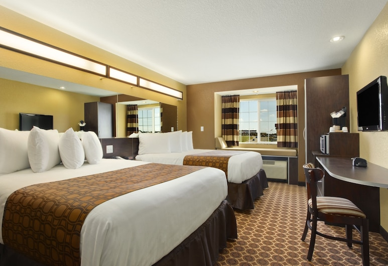 Microtel Inn & Suites by Wyndham Dickinson, Дікінсон, Стандартний номер, 2 ліжка «квін-сайз», Номер