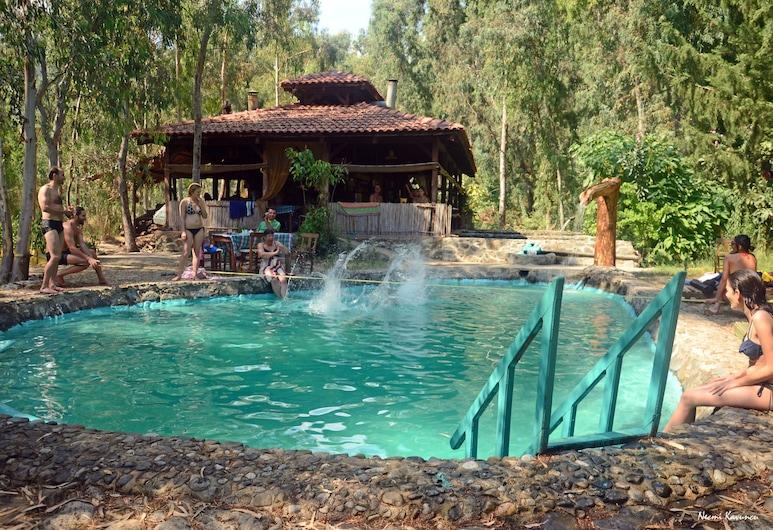 瓦迪田園飯店, 費特希耶, 天然游泳池