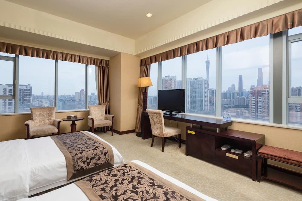 Panoramic Twin Room - Pemandangan Bilik Tamu
