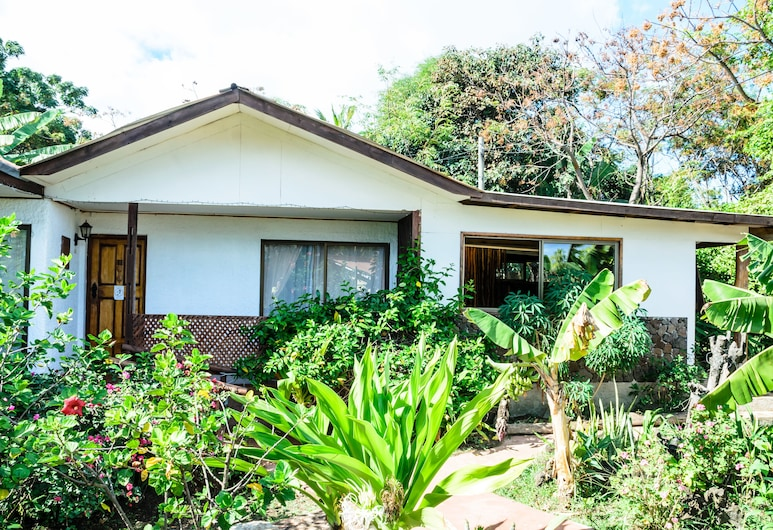 馬納努伊酒店, 漢加羅亞, Cabana 2 pax con terraza y vista mar, 客房