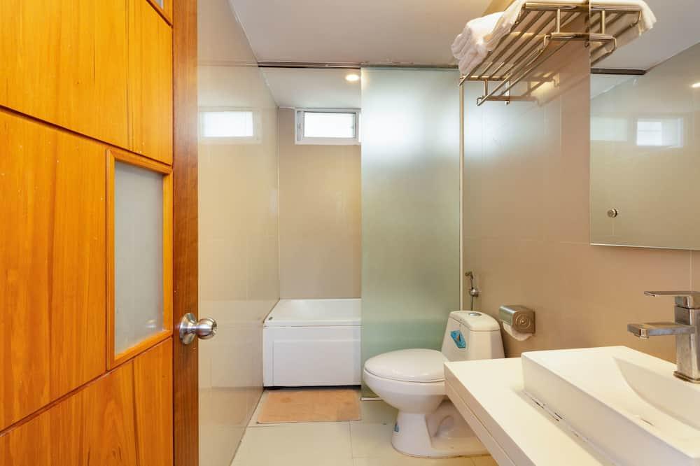 豪華客房, 陽台 - 浴室