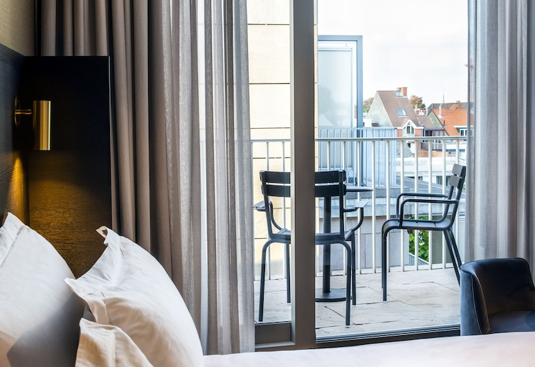 Pillows Grand Boutique Hotel Reylof Ghent, Ghent, Luxury Double Room, Balcony, Balcony