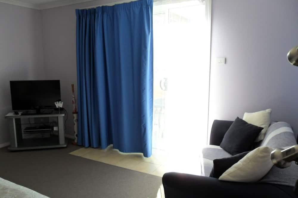 سرير ملكي - غرفة معيشة