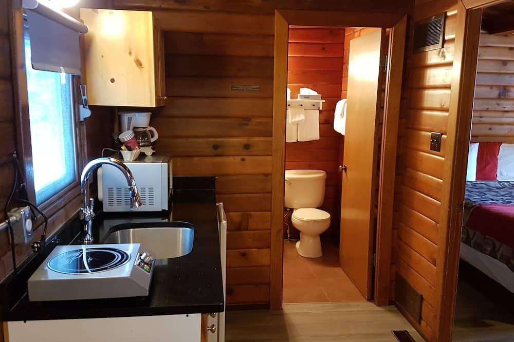 Будиночок категорії «Superior», 2 ліжка «квін-сайз», міні-кухня - Ванна кімната