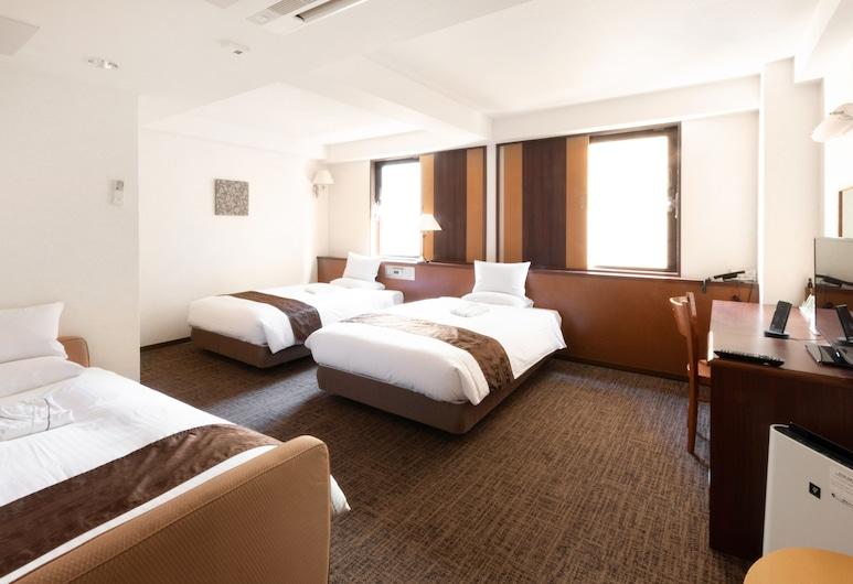 Toyo Hotel, Φουκουόκα, Τρίκλινο Δωμάτιο, Καπνιστών (23.0-27.0sqm, with Extra bed), Δωμάτιο επισκεπτών