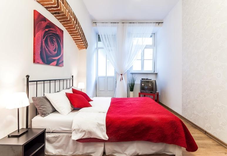 The Secret Garden Apartment Jozefa, Kraków, Apartament, 2 sypialnie, kuchnia, Pokój