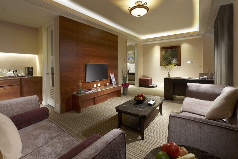 Phòng Suite Elite - Khu phòng khách