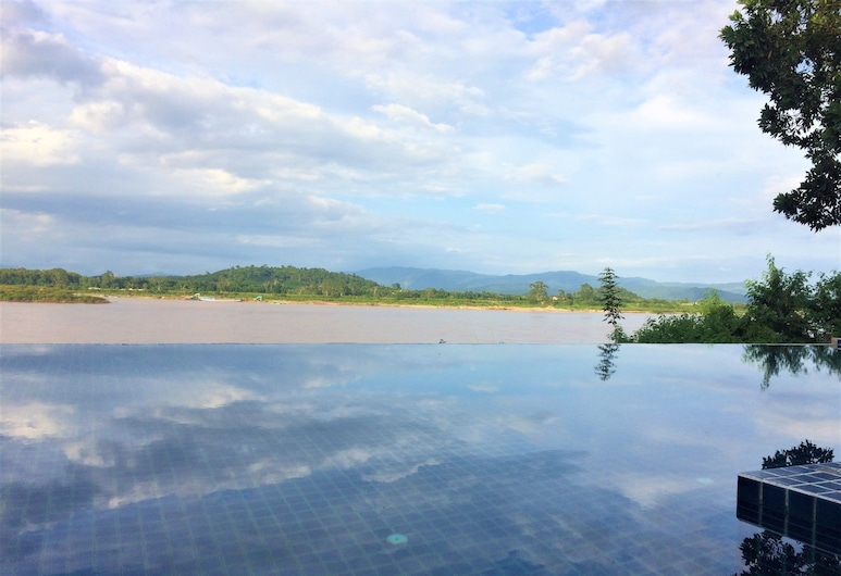 Siam Triangle Hotel, Chiang Saen, Outdoor Pool