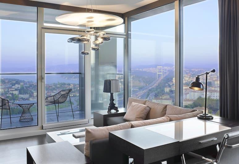 ル メリディアン イスタンブール エティラー, イスタンブール, エグゼクティブ スイート 1 ベッドルーム ビジネスラウンジアクセス, 客室
