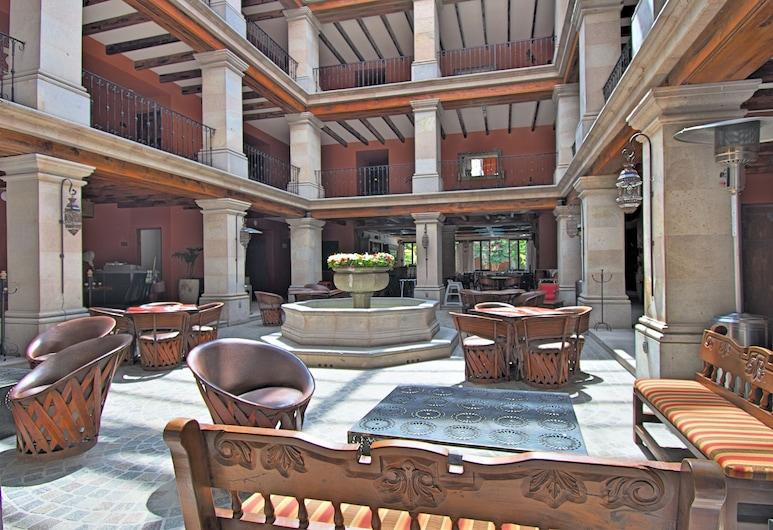 Casa Primavera Hotel Boutique & Spa, San Miguel de Allende, Gårdsplads