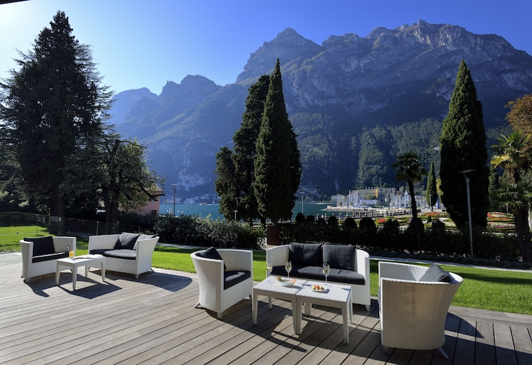Hotel Lido Palace - The Leading Hotels of the World, Riva del Garda, Terrass