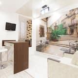 休閒公寓, 2 間臥室, 廚房, 庭園 - 客廳