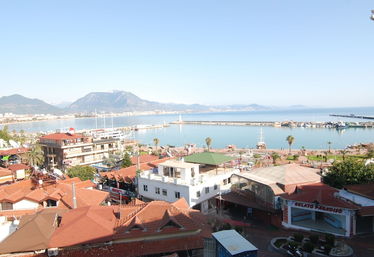 Temiz Otel, Alanya, Výhled z hotelu
