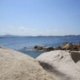 Вид на пляж/ океан