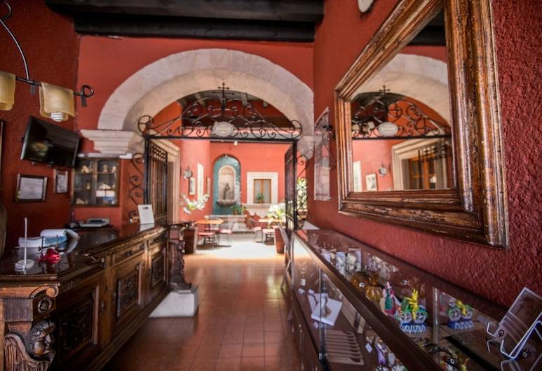 Portico Hotel Cultural, Morelia, Réception