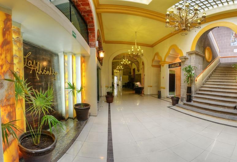 Hotel La Alhondiga, Puebla, Hotel-Innenbereich
