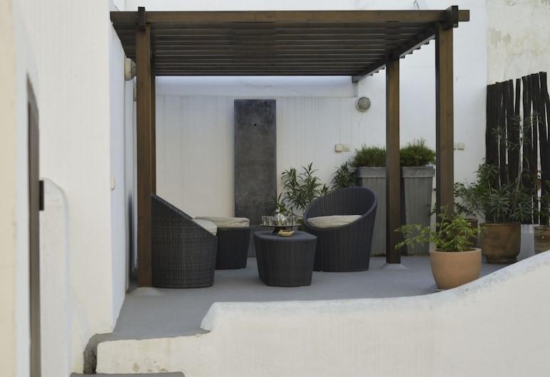 Riad Azahra, Rabat, Terassi/patio