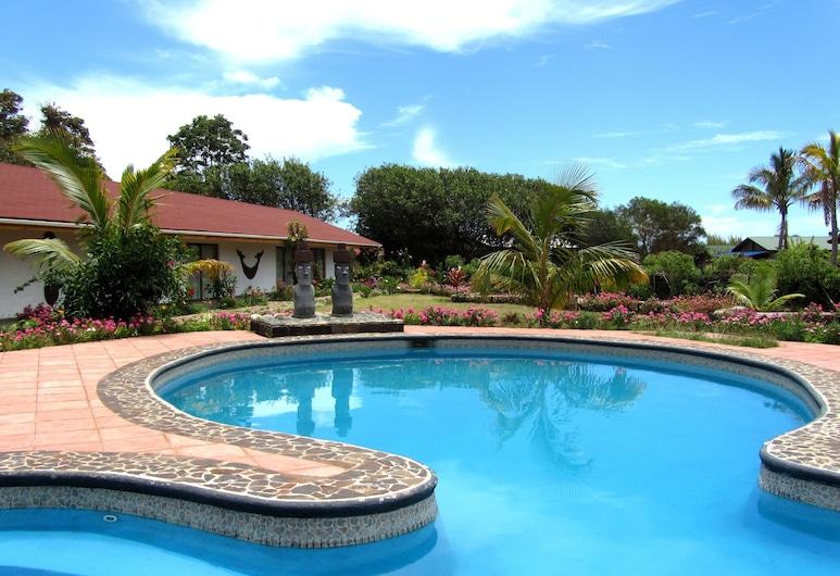 普庫威酒店, Hanga Roa, 室外泳池