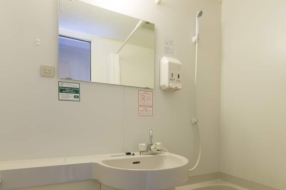 Einzelzimmer, Raucher - Badezimmer