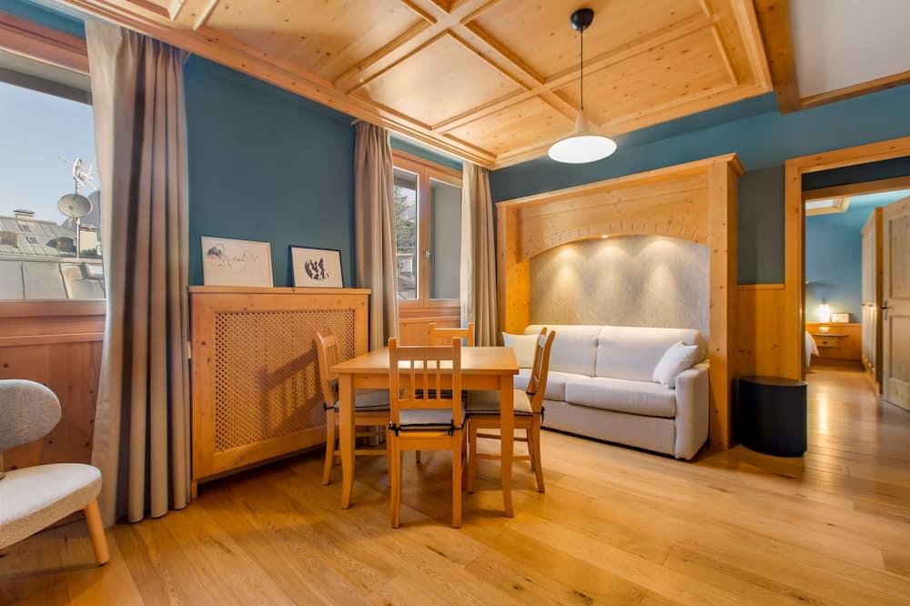 Διαμέρισμα, 1 Υπνοδωμάτιο, Μπαλκόνι, Θέα στο Βουνό - Δωμάτιο επισκεπτών