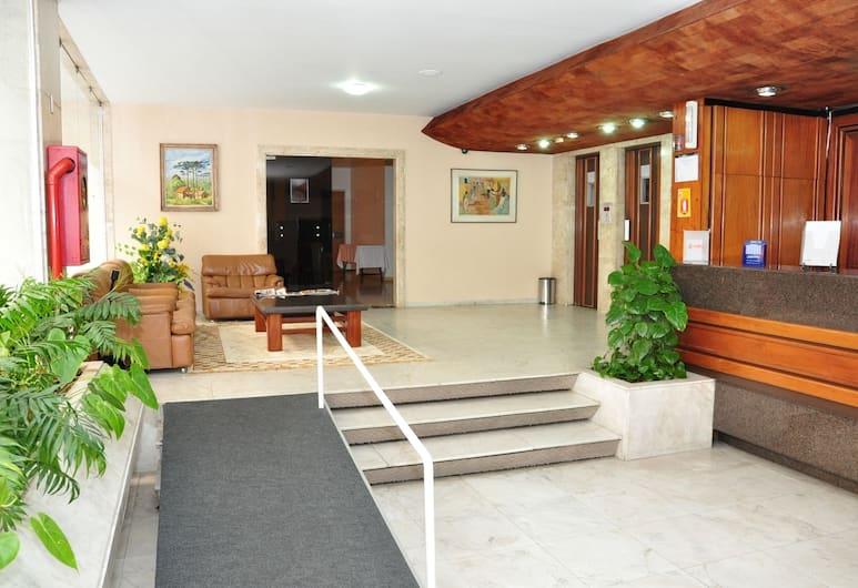 Hotel San Martin, Curitiba, Reception