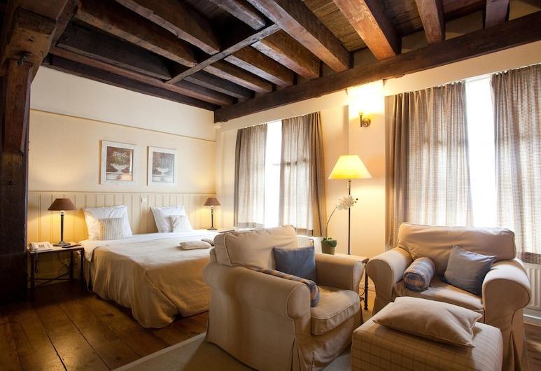 Hotel 't Sandt Antwerpen, Antuérpia, Quarto Duplo Superior, Quarto