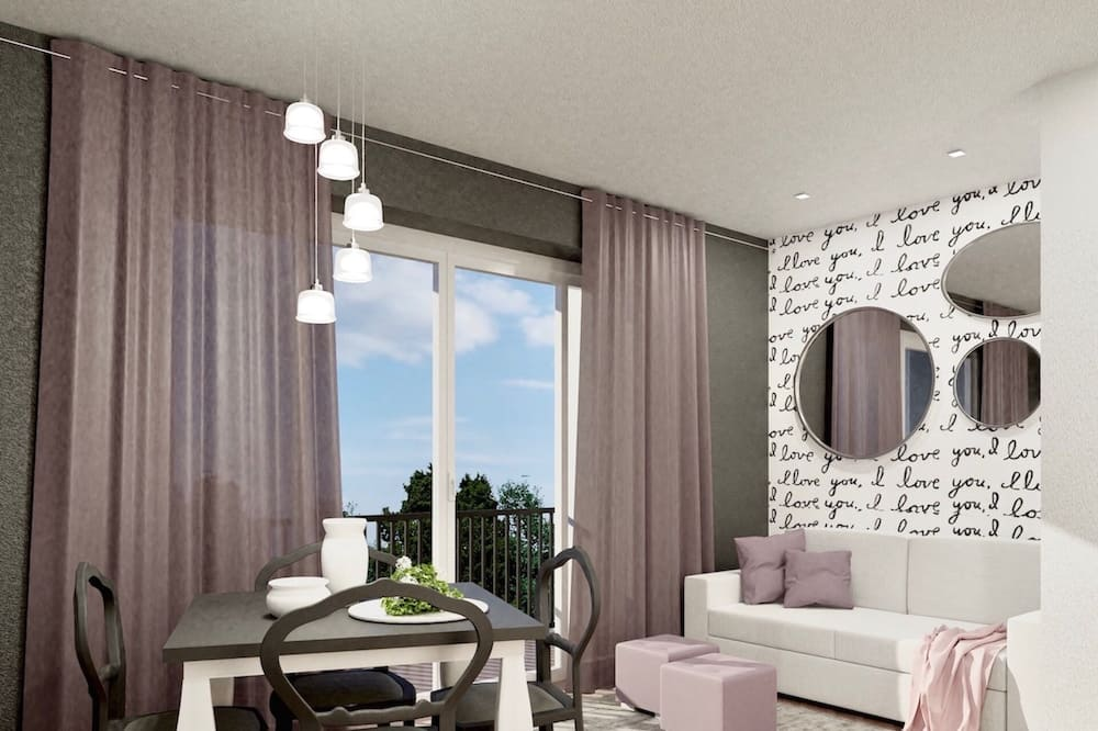 Standard Apartment, 1 Bedroom (with Terrace) - Living Area