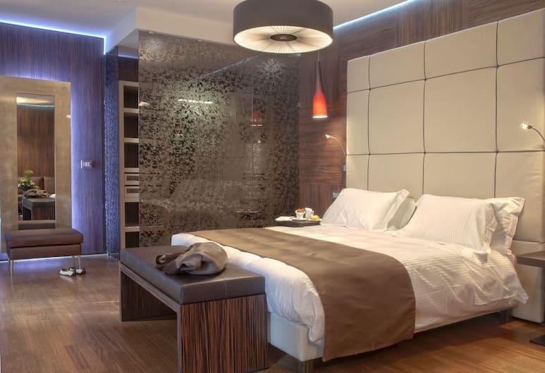 Berg Luxury Hotel, Rom, Executive-Suite, Terrasse, Zimmer