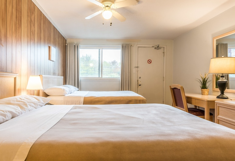Lake City Motel, Dartmouth, Grand Room, 2 Double Beds, Guest Room