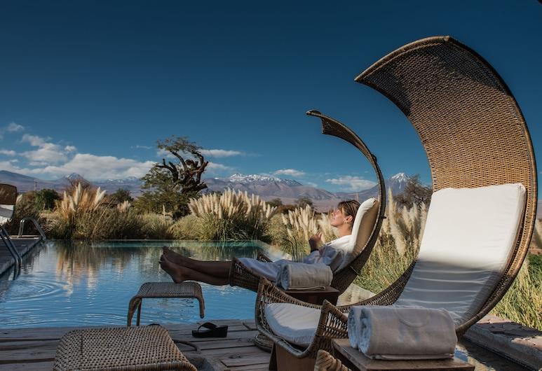 تيرا اتاكاما هوتل آند سبا, San Pedro de Atacama, حمّام سباحة خارجي