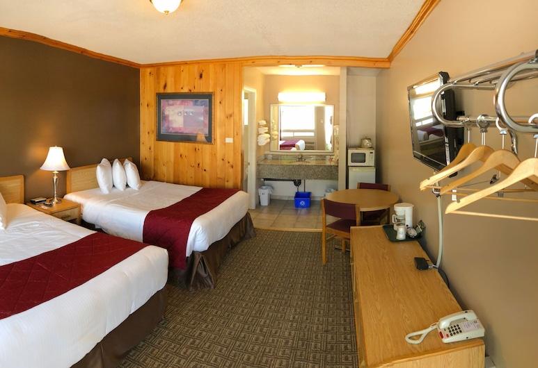 Knights Inn Huntsville, ON, Huntsville, Chambre, 2 grands lits, Chambre