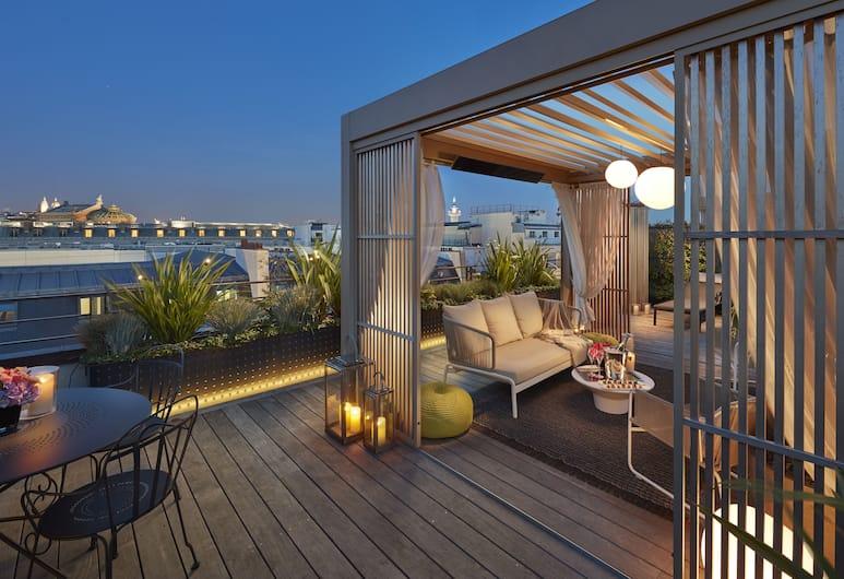 Mandarin Oriental, Paris, Paris, Panorama-suite, Terrasse/patio
