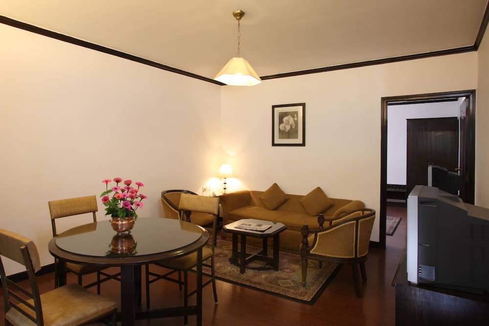 ห้องแฟมิลี่สวีท, 1 ห้องนอน - บริการอาหารในห้องพัก