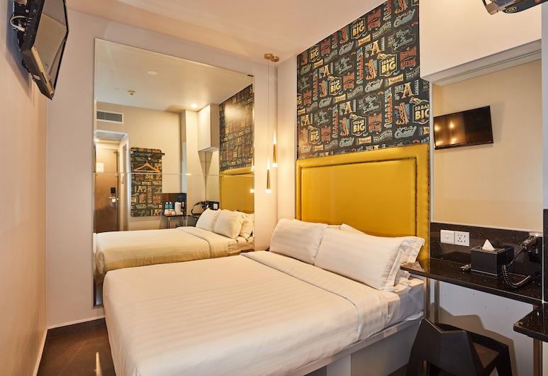 ibis budget Singapore Bugis (SG Clean), Singapura, Standard Double Room, 1 Katil Kelamin (Double) (Theme), Bilik Tamu