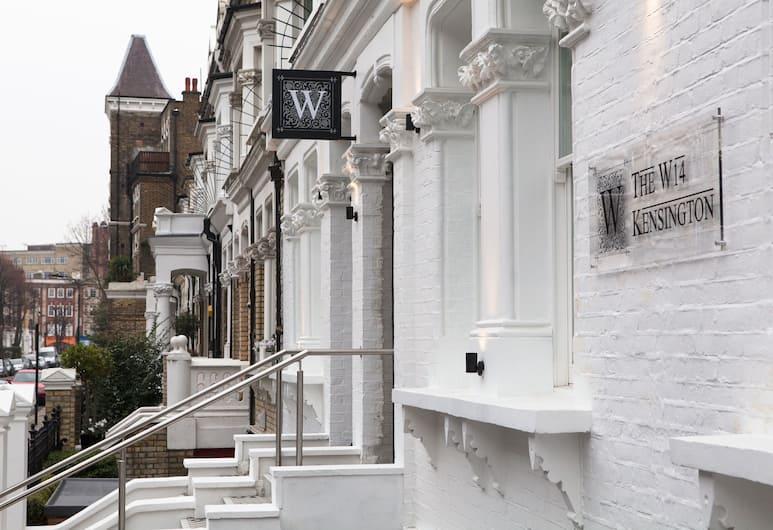 W14 Hotel, London, Fassaad