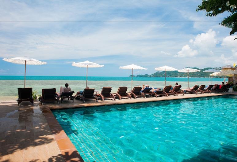 Montien House Chaweng Beach Resort, Ko Samui, Piscine