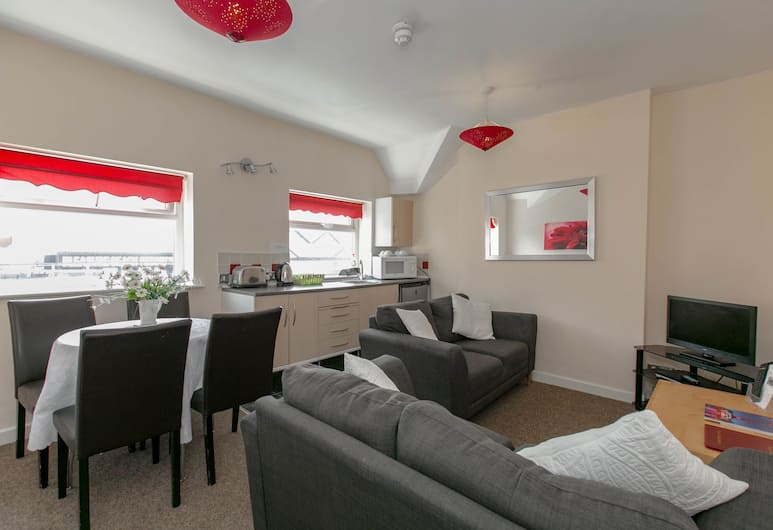 Aparthotel Blackpool, Blackpool, Apartman, 2 spavaće sobe (2 adultes and 2 children), Dnevni boravak
