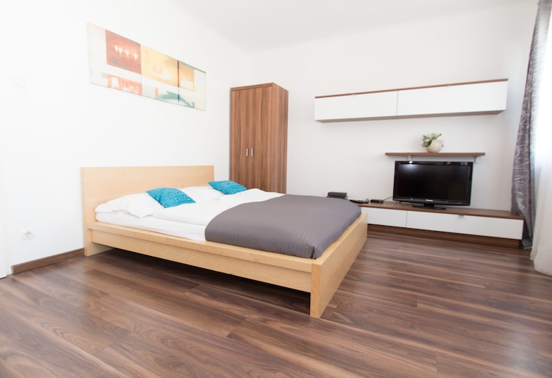 CheckVienna - Apartment Meiselstrasse, Viena, Apartamento, Cozinha, Quarto