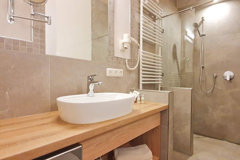 基本雙人房單人入住, 1 張特大雙人床, 非吸煙房 - 浴室