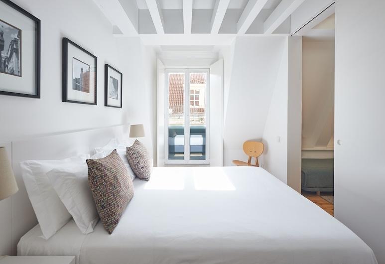 Hello Lisbon Terreiro do Paço Collection Apartments, Lisbonne, Appartement Supérieur, 2 chambres, Chambre