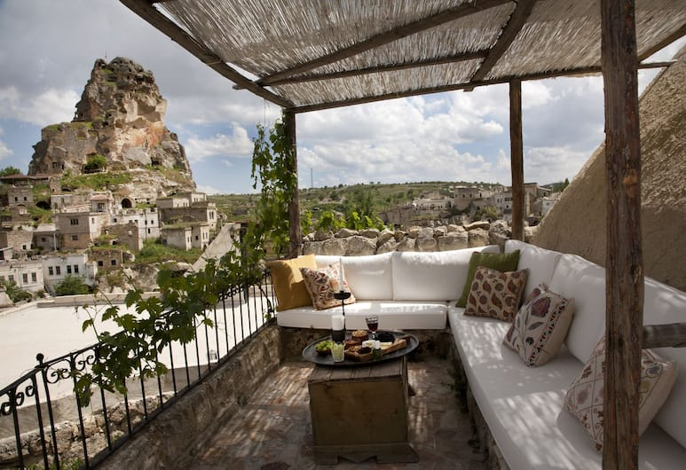 Hezen Cave Hotel, Urgup, Terassi/patio
