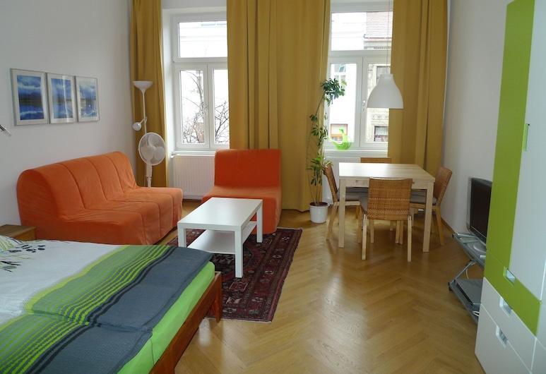 City Apartments Vienna - Stuwerstraße, Wenen, Studio, Woonruimte