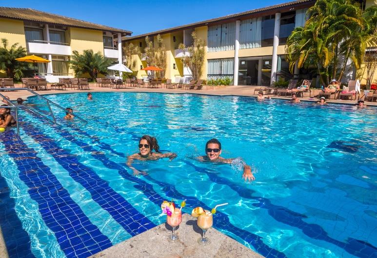Transoceânico Praia Hotel, Porto Seguro, Vonkajší bazén