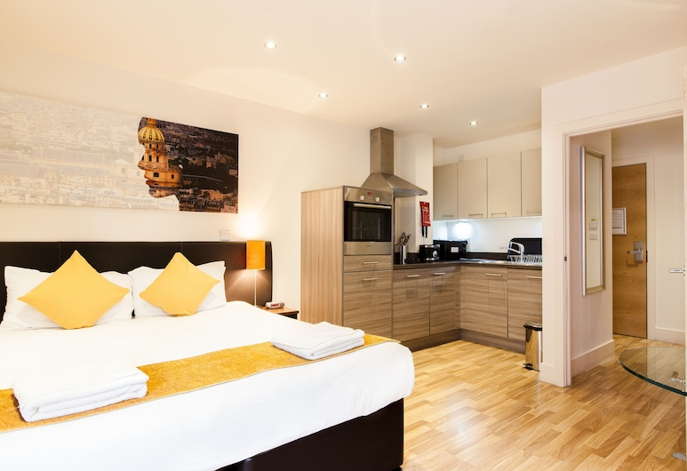 Staycity Aparthotels West End, Edinburgh, Standard Apartment, 2 Bedrooms (Open Plan), Room