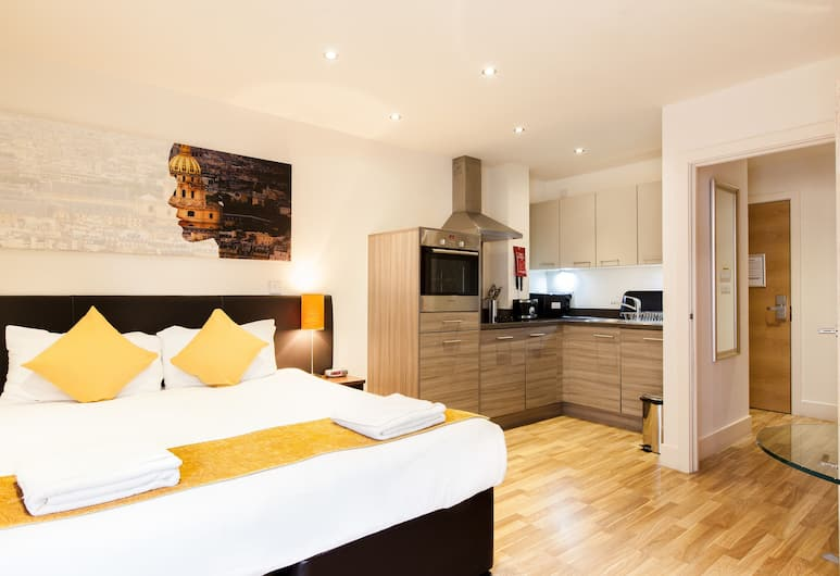 Staycity Aparthotels West End, Edinburgh, Studio Apartment, Room