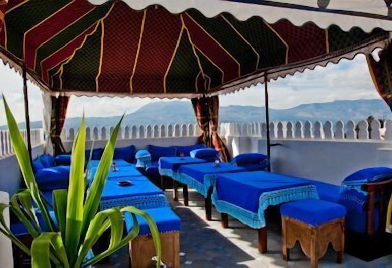 Hotel Dar Mounir, Chefchaouen, Terrace/Patio