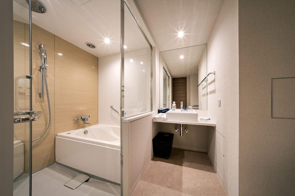 Habitación superior con 2 camas individuales, para no fumadores (ANNEX, Check in at Main building) - Baño